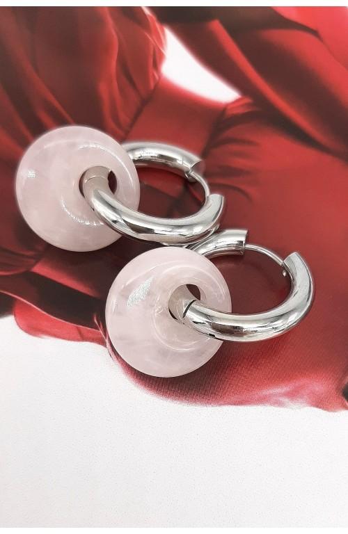 Розовый кварц 101-878
